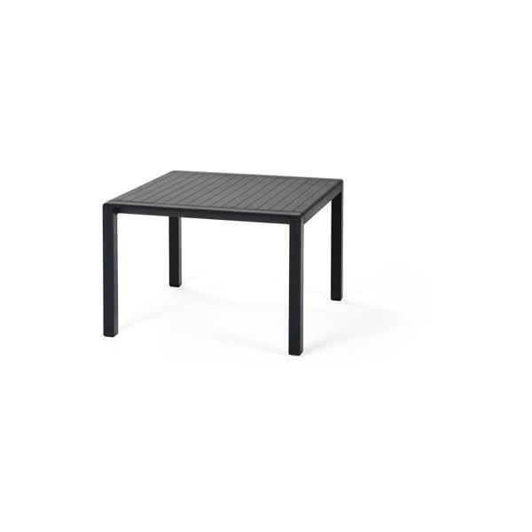Sada 2ks křeslo Aria Antracite Grigio + stůl Aria Antracite 60 x 60 cm, antracit