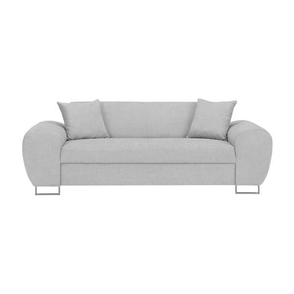 Canapea 3 locuri Kooko Home Tresso, gri