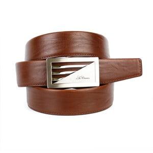 Pánský kožený pásek 11N30 Brown, 100 cm