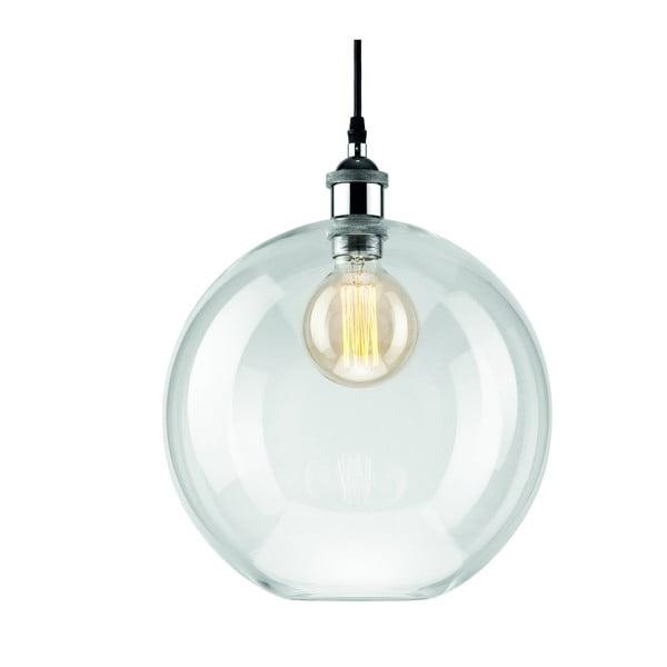 Skleněné závěsné svítidlo Lamkur Ball