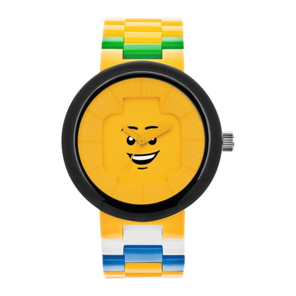 Hodinky pre dospelých LEGO® Happiness Yellow