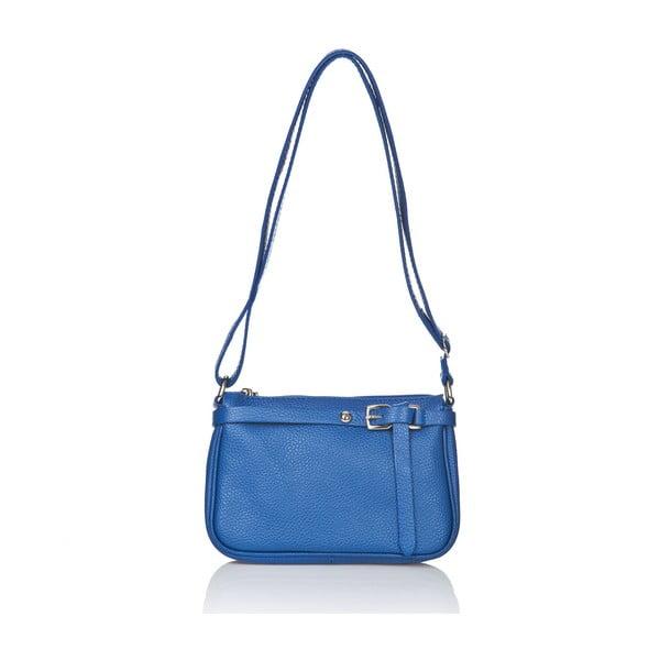 Kožená kabelka Markese 5161 Blue