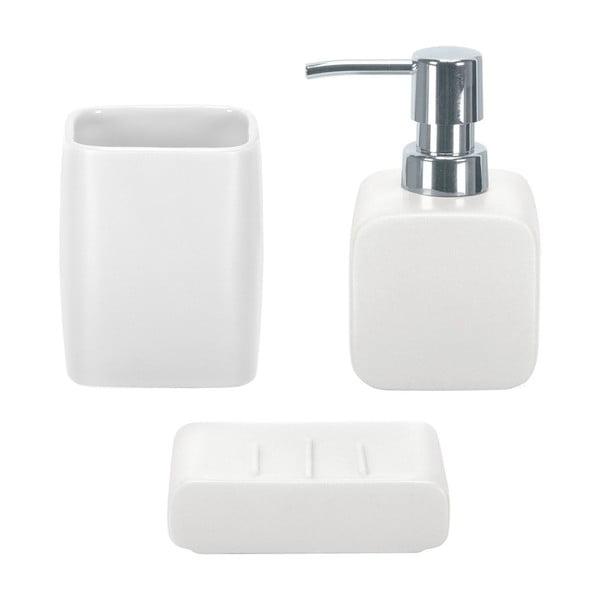 Koupelnový set Cubic White