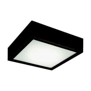 Plafonieră pătrată Lamkur Plafond, 27,5x27,5 cm, negru de la LAMKUR