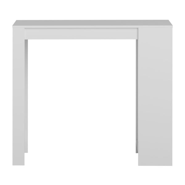 Bílý barový stůl s bílou deskou Symbiosis Aravis
