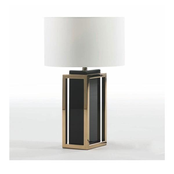Stolní lampa v barvě růžového zlata bez stínítka Thai Natura, výška55cm