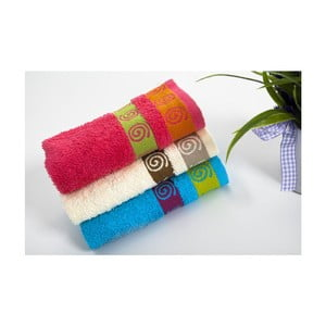 Sada 3ks ručníků Truva V4, 30x50 cm