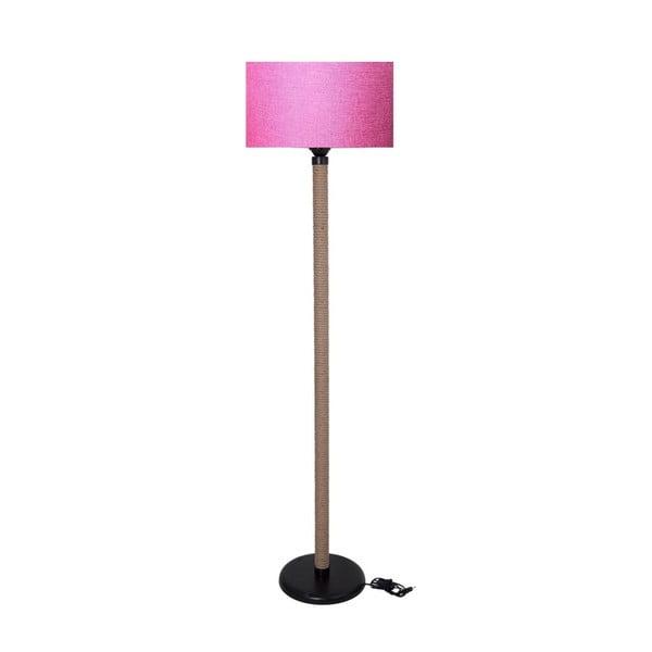 Lampadar Kate Louise Rope, roz - natural