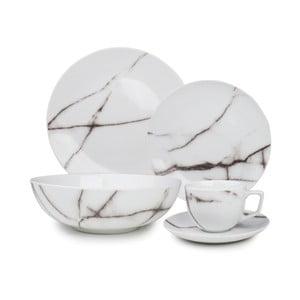 Set nádobí Salt&Pepper Marble, 20ks
