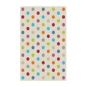 Covor Universal Norge White Dots, 57 x 110 cm