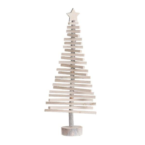 Vánoční dekorace dřevěný stromeček J-Line, výška 70 cm
