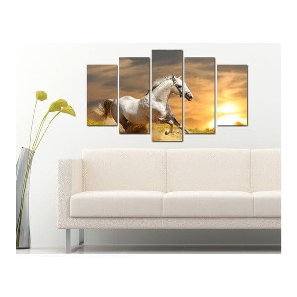 Serenity többrészes kép, 102x60cm - 3D Art