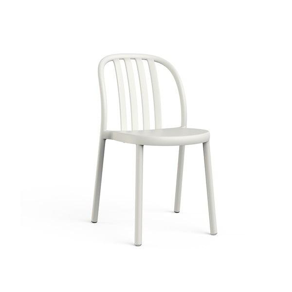 Sada 2 bílých zahradních židlí Resol Sue