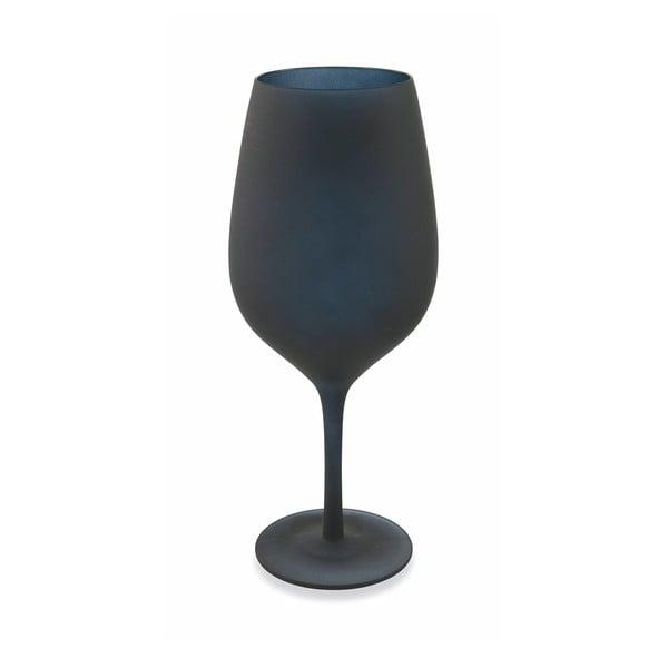 Sada 6 černých skleněných pohárů Villad'Este Naima, 428 ml