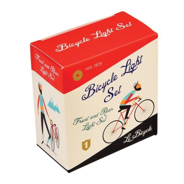 Set 2 lumini de siguranță pentru bicicletă Rex London Le Bicycle