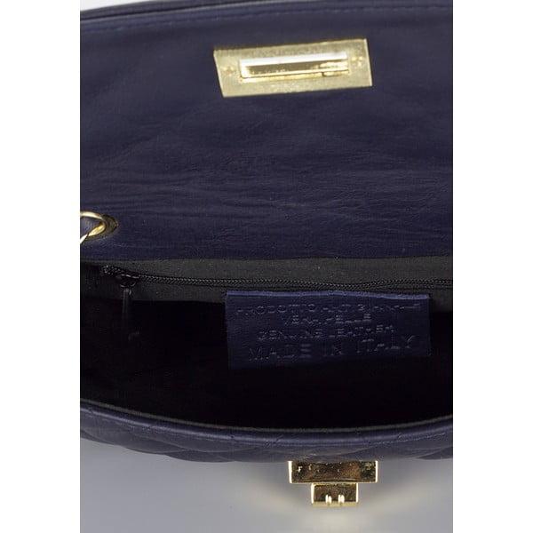 Kožená kabelka Markese 6997 Blue