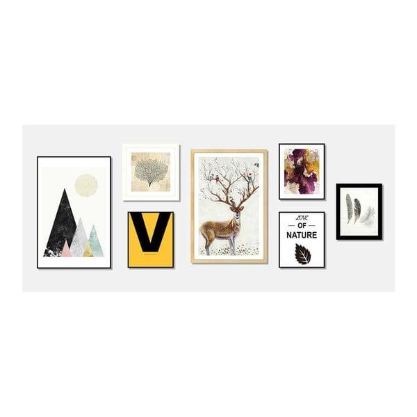 Tablou Sømcasa Abstract, 25 x 30 cm