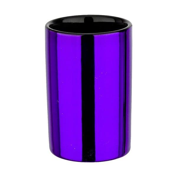 Kelímek na kartáčky Purple Metallic