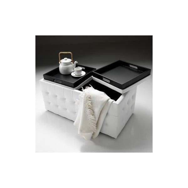 Lavice s úložným prostorem Tomasucci Dizz, bílý