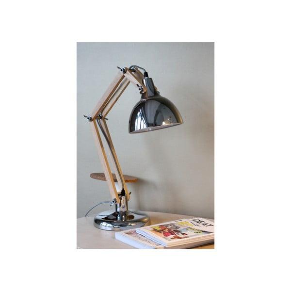 Chromová stolní lampa Red Cartel Dexte