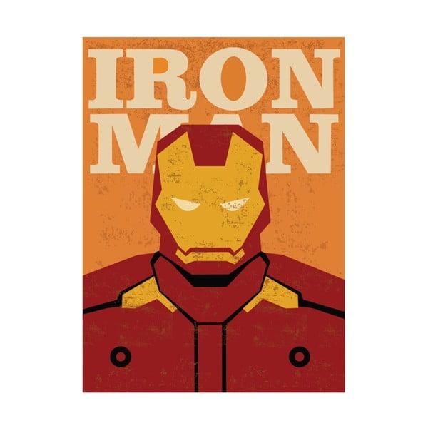 Super Heroes Iron Man poszter, 30 x 40 cm - Blue-Shaker
