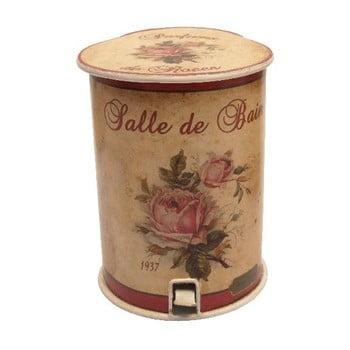 Coș de gunoi pentru toaletă Antic Line Roses, 20 cm