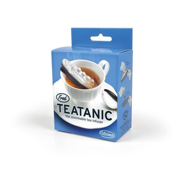 Silikonové sítko na čaj Fred Teatanic