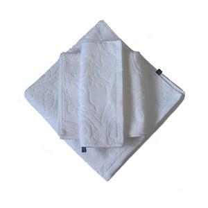 Set 3 ručníků Seaside, bílý
