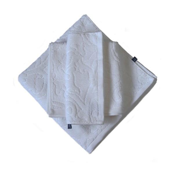 Ručník Seaside 50x30, bílý