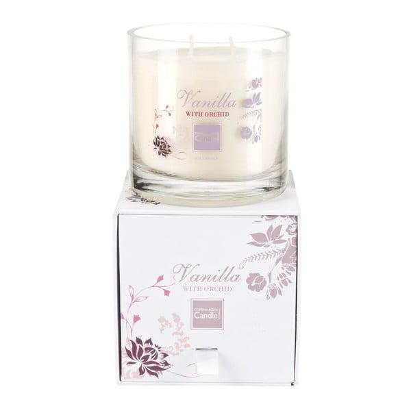 Aroma svíčka Vanilla & Orchid Medium, doba hoření 50 hodin