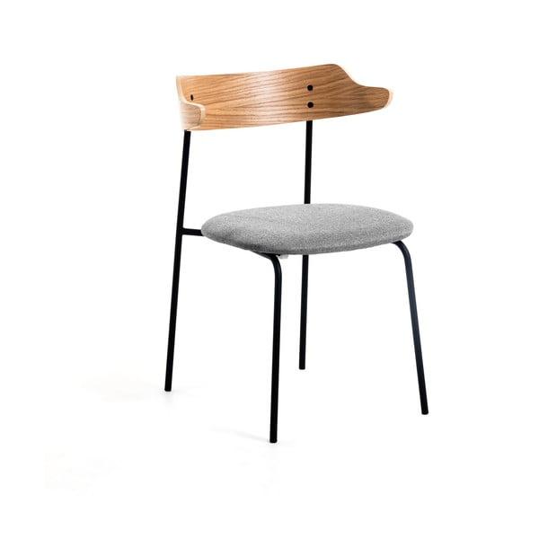 Světle šedá jídelní židle La Forma Olympia
