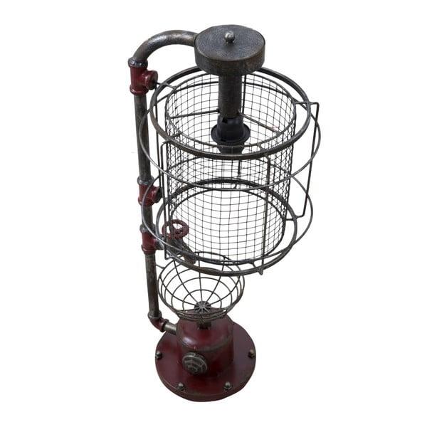 Industriální kovová stolní lampa Mauro Ferretti