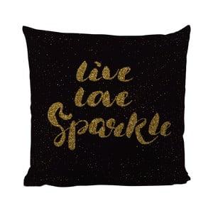 Pernă Black Shake Love Live Sparkle, 40x40 cm