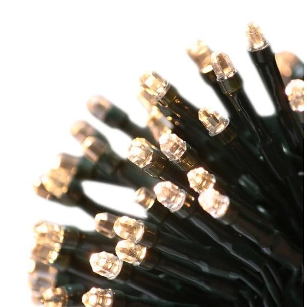 Zelený LED světelný řetěz DecoKing Basic, 60 světýlek, délka7,43m