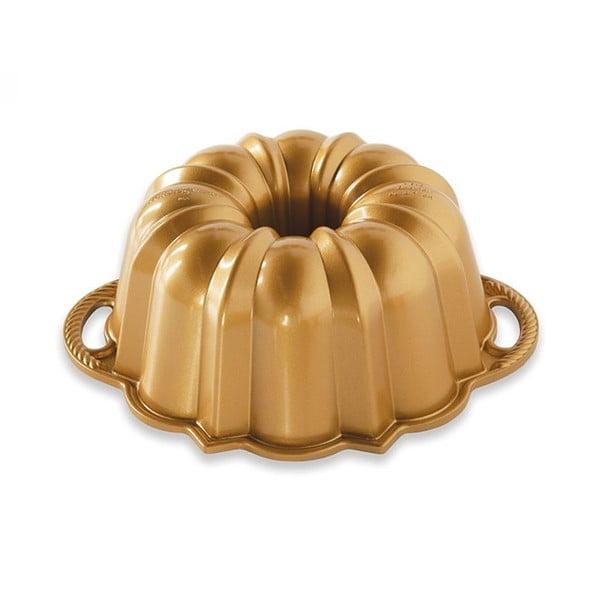 Formă pentru guguluf Nordic Ware Anniversary, 1,4 l, auriu