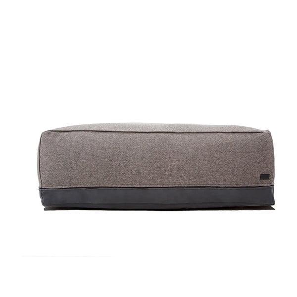 Venkovní sedací puf Storm vhodný do každého počasí, 30x50 cm