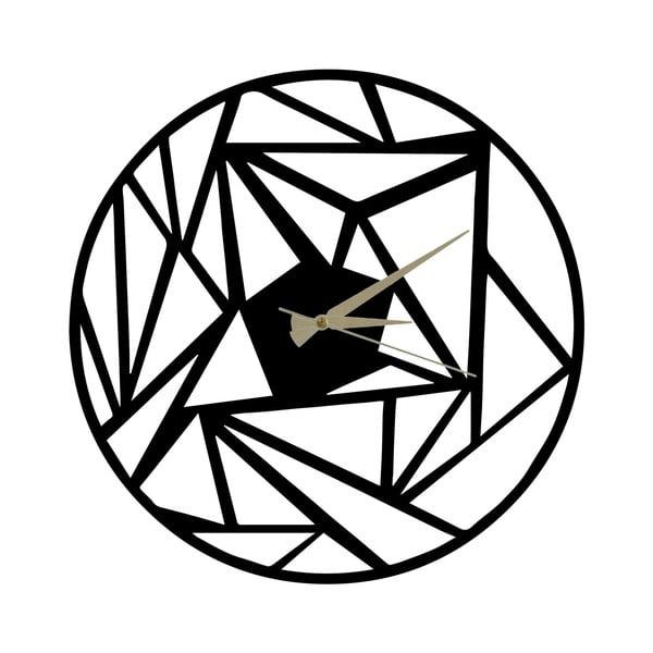 Kovové hodiny Peony, 60x50cm