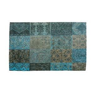 Modrý koberec z bavlny Cotex Colorado, 120 x 180 cm