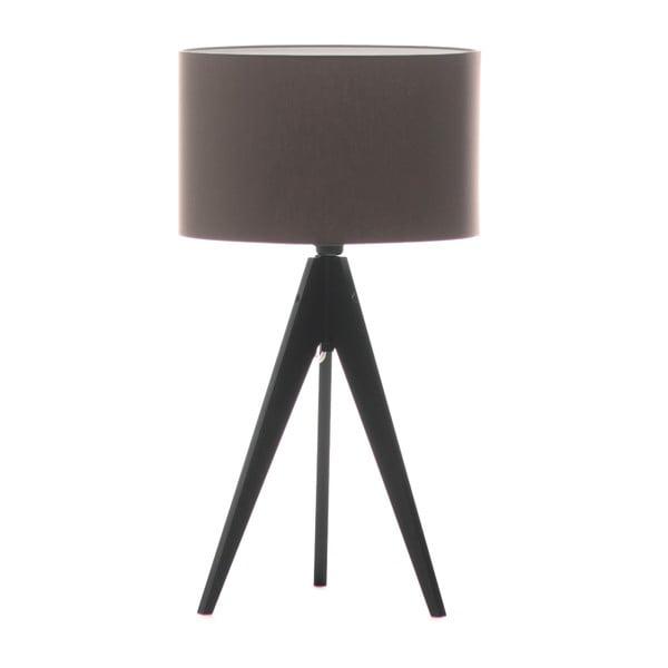 Stolní lampa Artist Dark Taupe/Black, 40x33 cm