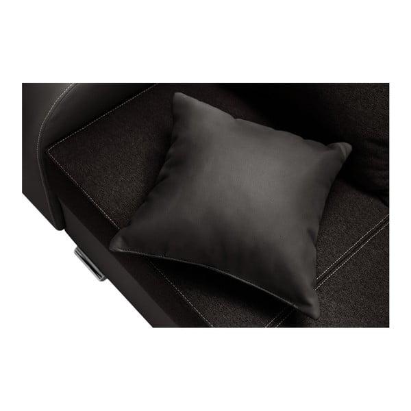 Hnědá sedačka Interieur De Famille Paris Destin, levý roh