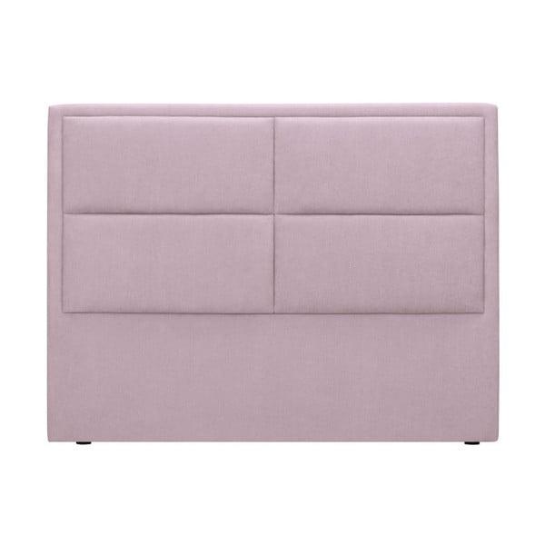 Ružové čelo postele HARPER MAISON Gala, 200×120 cm