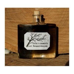 Tělový konopný olej, 200 ml, aloe vera