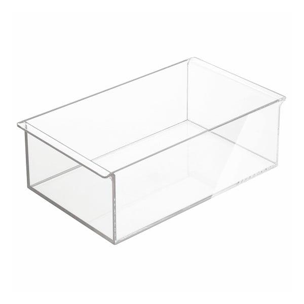 Organizator adânc InterDesign Clarity, 30,5 x 18 cm