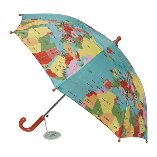 Parasol dziecięcy Rex London World Map, ⌀ 70 cm