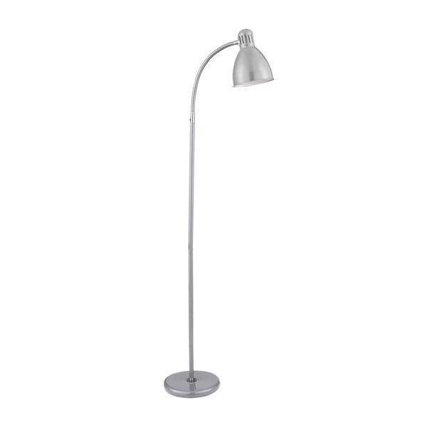 Stojací lampa Chrom, stříbrná