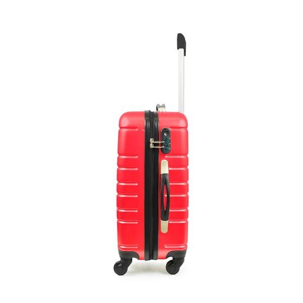 Sada příručního zavazadla a tašky Brand Developpement Vanity Case, červené