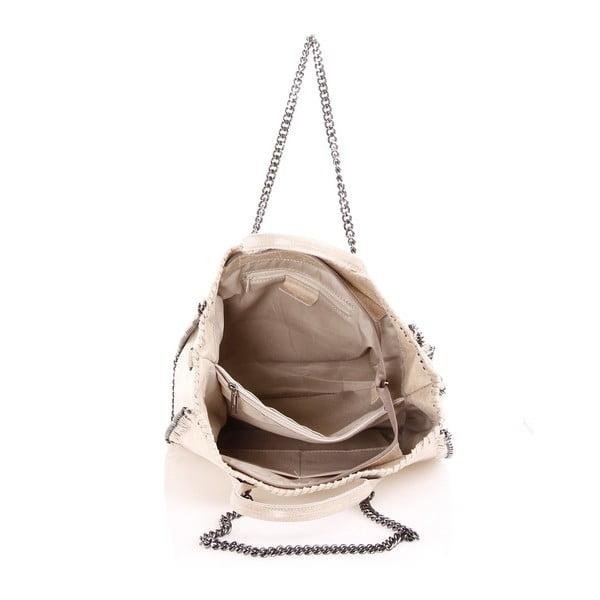 Kožená kabelka Gloria, písková