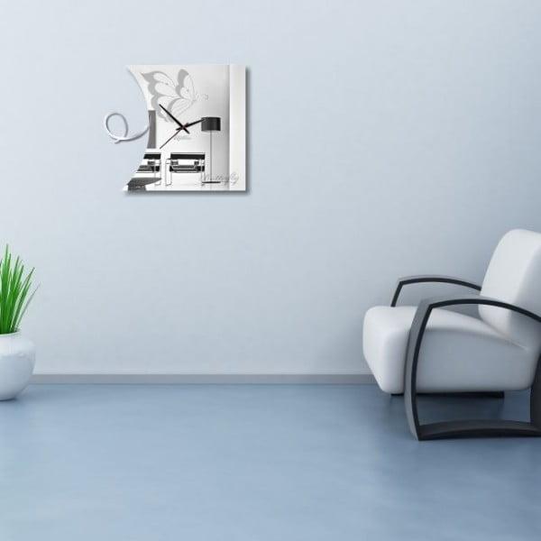 Nástěnné hodiny Butterfly Clock