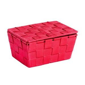Coș cu capac Wenko Adria, roșu