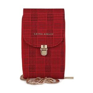 Červená kabelka / psaníčko Laura Ashley Kirby